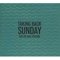 Taking Back Sunday Tell All Your Fr Importado Cd + Dvd Novo