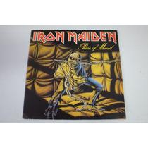 Iron Maiden Piece Of Mind - Vinil Disco Lp Hard Rock 1985