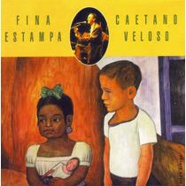 Cd Lacrado Caetano Veloso Fina Estampa Ao Vivo 1995