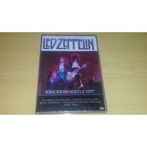 Dvd Led Zeppelin - Kingdom Seatle 1977