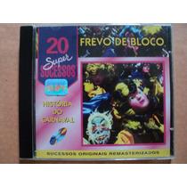 Frevos De Bloco- Cd 20 Super Sucessos- 1996- Original Zerado