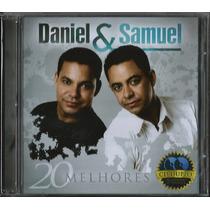 Cd Duplo Daniel E Samuel - 20 Melhores [cd+pb]