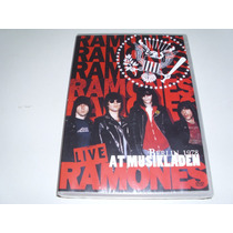 Dvd Ramones Live At Musikladen Berlin 1978