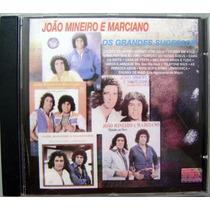Cd - João Mineiro E Marciano - Os Grandes Sucessos - 1998