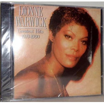 Cd Dionne Warwick Greatest Hits - 1979-1990 Lacrado