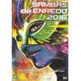 Dvd Sambas De Enredo - 2016 Ao Vivo - Novo***