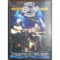 Bruno & Marrone Acústico Ao Vivo Dvd Lacrado