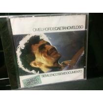 Caetano Veloso, Cd Sem Lenço Sem Documento, Lacrado