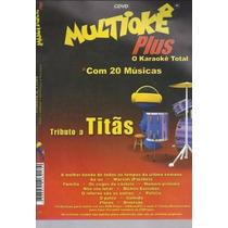 Dvd Multiokê Tributo A Titãs (original E Lacrado)