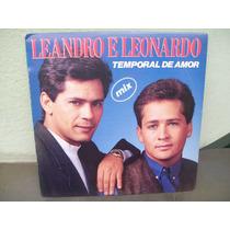 Lp. Leandro E Leonardo Temporal De Amor Mix Promocional .