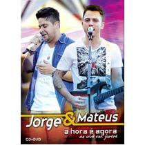 Dvd+cd Jorge E Mateus - A Hora E Ago / Digipack (981107)
