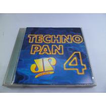 Cd Jovem Pan Techno Pan 4 Músicas Dance Flash House Anos 90