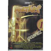 Dvd Original Multiokê Gospel Line Records Vl.1