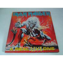 Lp Iron Maiden / A Real Live One / Ano 1993 / Com Encarte