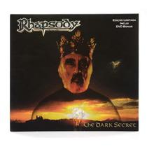 Rhapsody The Dark Secret Digipack Dvd+cd Novo Lacrado Raro