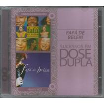 Cd Duplo Fafá De Belém - Sucessos Em Dose Dupla - 2011