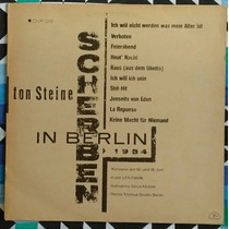 Lp Ton Steine Scherben In Berlin 1984 Art Rock David Bowie