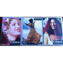 3 Boxes - Clara Nunes (6 Dvds + 6 Cds) - Frete Grátis