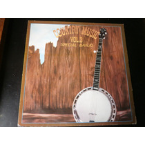 Lp Country Music Vol. 3, Special Banjo, Disco Vinil, 1979
