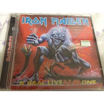Cd Duplo Ao Vivo - Iron Maiden A Real Live Dead One Enhanced