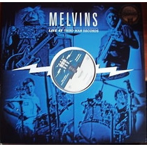Lp Melvins Live At Third Man Records Import Raro Jack White