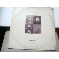 Lp Pet Shop Boys - Behaviour. Capa Ruim Disco Razoavel