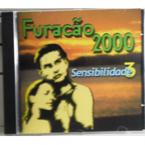 Funk Black Romântico Cd Furacão 2000 Sensibilidade Vol 3