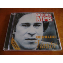 Cd Geraldo Vandré - Mestres Da Mpb ( Remaster / Lacrado )