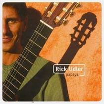Cd Rick Udler Papaya (2006) - Novo Lacrado Original