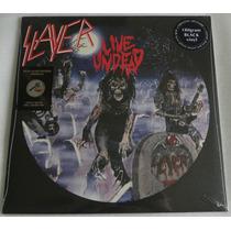 Slayer Live Undead Lp Preto 180 Grams Selado Pronta Entrega