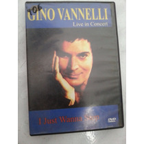 Dvd Gino Vannelli Live