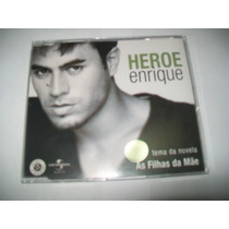 Cd Single Promo Nacional Enrique Iglesias-heroe*tema Novela