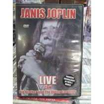 Janis Joplin Live Big Brother Holding Dvd Orriginal Impecáve