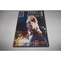 Dvd - Led Zeppelin - Live In London 1972 - Lacrado - Raro