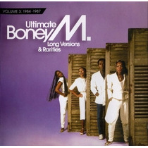 Cd Boney M - Ultimate Boney M - Long Versions & Rarities
