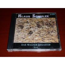 Cd Duplo Klaus Schulze Das Wagner Desaster Live Importado