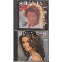 2 Cd´s Shania Twain - The Woman In Me / Come On Over
