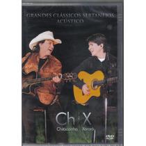 Chitãozinho & Xororó - Grandes Clássicos-dvd Novo -sertanejo