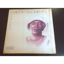 Lp Milton Nascimento - Personalidade. Com Encarte.