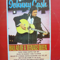 Lp Johnny Cash - Ballad Of A Teenage Queen Vinil Raro