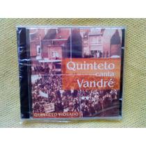Cd Quinteto Violado Canta Vandré 1ª Edição 1997 Raro Lacrado