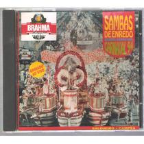 Cd Samba Enredo 94 Do Rio Original Perfeito Novissimo Lind