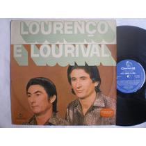 Lp -lourenço E Lourival / Pelo Caminhos Do Amor / Chantecler