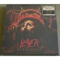 Box Slayer Repentless Vinil + 2cds + Blu-ray Pronta Entrega