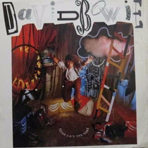 Vinil Lp David Bowie Never Let Me Down 1987 Times Will Crawl