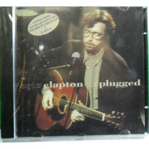 Rock Pop Cd Eric Clapton Unplugged Original Lacrado.