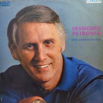 Lp Francisco Petronio - Para Jovens Romanticos Vinil Raro