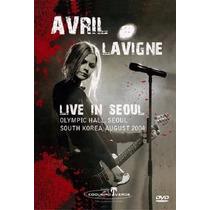 Dvd Avril Lavigne Raro! Live In Seoul Show 2004 Ao Vivo Novo