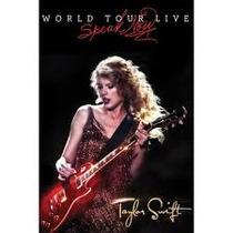 Dvd Taylor Swift World Tour Live Speak Now