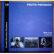 Rita Lee & Tutti Cd + Livreto Nac Usado Fruto Proibido 2010